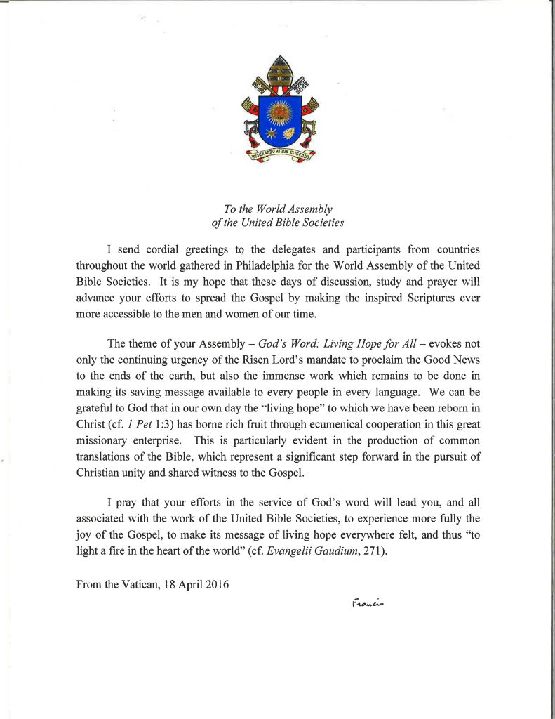 pope-francis-letter-to-ubs-world-assembly-2016